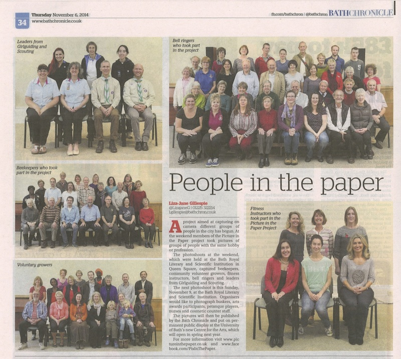 Bath Chronicle 6 Nov 2014
